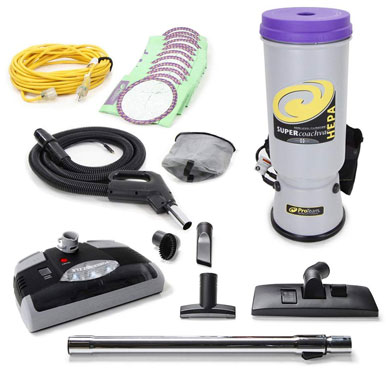 Back Pack Backpack Vacuum Commercial Attachment kit